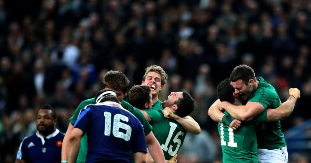 Paris heroics just reward for Andrew Trimble's nine-year journey of discovery