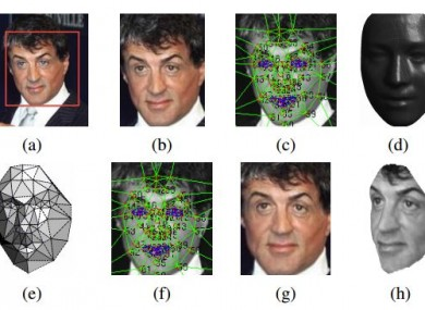 The DeepFace program has a 97.25 chance of correctly identifying a face, handy if you're having problems identifying Sylvester Stallone.