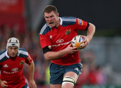 Donnacha Ryan has been ruled out.