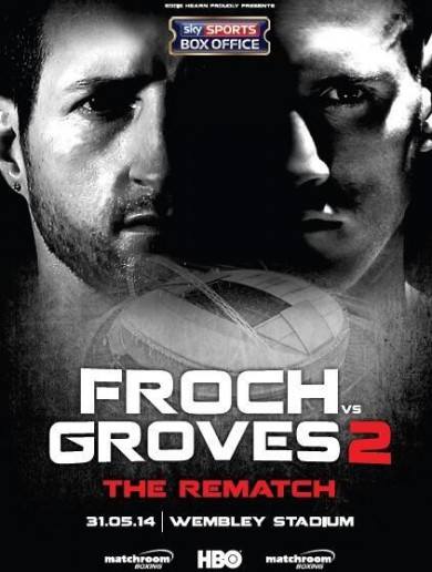 Wembley Stadium confirmed for Froch v Groves rematch