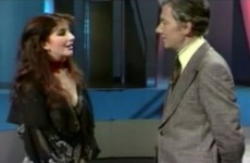 Here's Gay Byrne interviewing Kate Bush in 1978