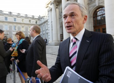 Jobs Minister Richard Bruton (File photo)