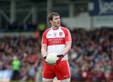 Derry captain Mark Lynch produced an influential display as his side beat Dublin.