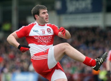 Mark Lynch contributed 1-6 for Derry today.