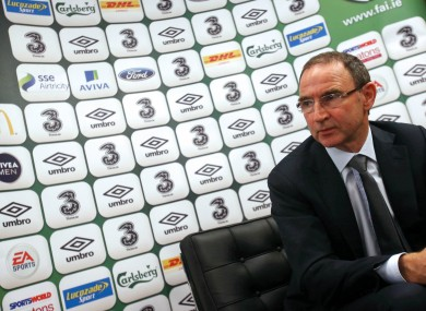 Martin O'Neill is preparing his side for Wednesday's friendly in Dublin.