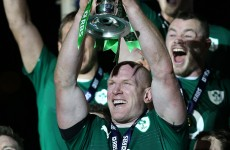Paul O'Connell: 'I'm so happy for the lads, and for Brian in his last international'
