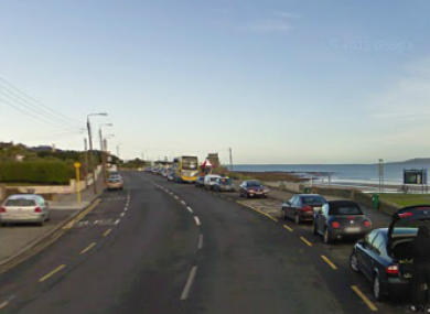 Strand Road in Portmarnock