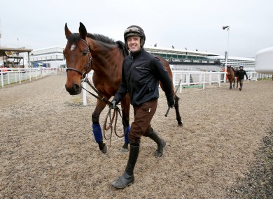 Ruby Walsh and Hurricane Fly.