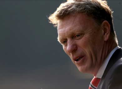 David Moyes has emphasised that his side are a work in progress.