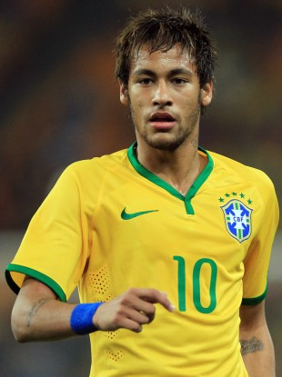 Neymar is set to speahead Brazil's attack at this summer's World Cup.
