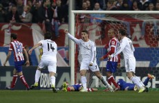 Ronaldo rescues a point for Real in eventful Madrid derby