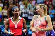 Sharapova and Williams cold war ends but Russian insists she won't wear a catsuit