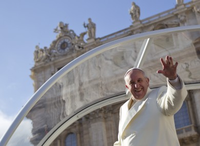 Pope Francis (File photo)
