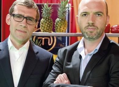 MasterChef Ireland judges Nick Munier and Dylan McGrath