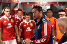 Lions and England rugby coach Andy Farrell has three tips for a succesful defence