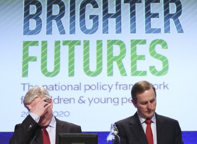 The Taoiseach and Tánaiste in Dublin Castle this week.