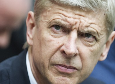 Wenger: speculation about future at the club.