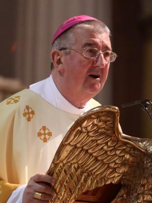 The Archbishop of Dublin Diarmuid Martin.