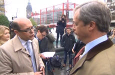 'Was your wife taking someone else's job?': It got a bit awkward for UKIP's Nigel Farage today