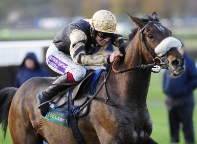 File photo of Tidal Bay and Sam Twiston Davies.