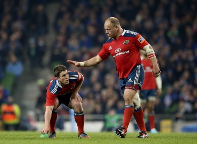 Botha's experience and leadership are important for Munster.