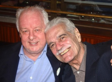Jim Sheridan and Omar Sharif