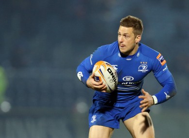 Jimmy Gopperth starts at 10 for Leinster.
