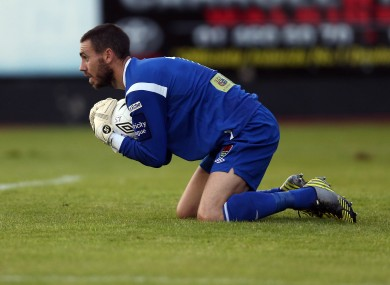 Cork City goalkeeper Mark McNulty.