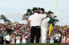 Bubba boo-yeah! Watson wins his second Masters green jacket