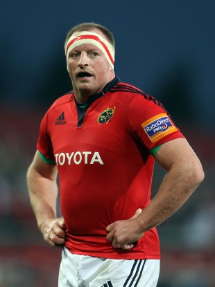 O'Driscoll made 207 appearances for Munster.