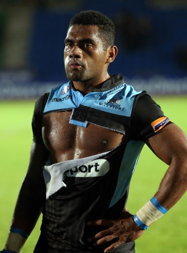 Nico Matawalu dejected at the final whistle 25/10/2013