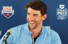 Michael Phelps says he's back in the pool because of weight gain and love of the sport
