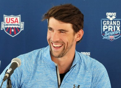 Michael Phelps: 'I'm the grandfather of the group now'.