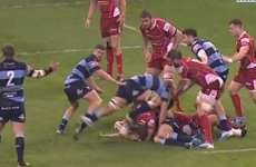 Munster-bound Robin Copeland sent off fo