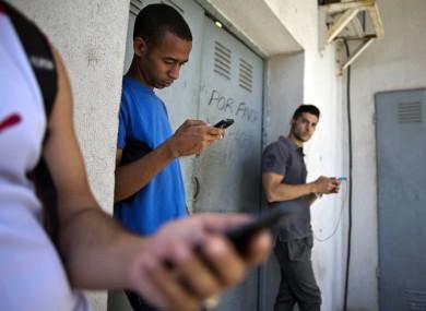 Students in Havana, Cuba