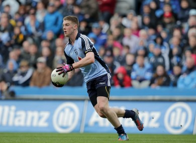 Dublin's Shane Carthy has been passed fit to play after being an injury doubt.