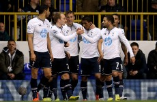 Five-star Spurs give under-fire Sherwood a boost