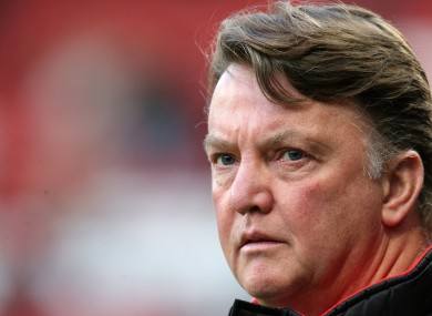 Louis Van Gaal: heading for the World Cup.