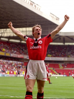 Pearce as player/manager of Forest back in 1997.