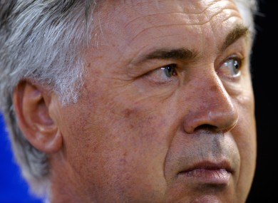 Ancelotti is currently managing Real Madrid.