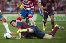 Barcelona's title hopes in jeopardy, Real Madrid cruise to win