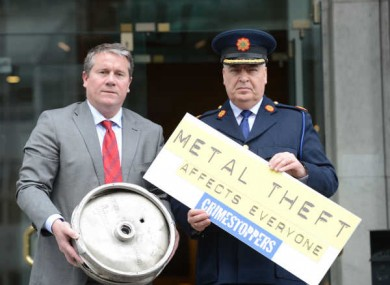 Assistant Commissioner Derek Byrne and Netwatch CEO David Walsh