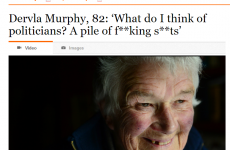 """Headline of the weekend: politicians are a """"pile of f**king sh*ts"""""""