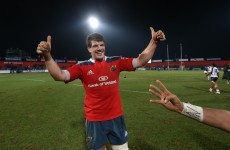 Donncha O'Callaghan and Joe Rokocoko teaming up to bring down England