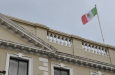 Why is the Mexican flag flying over the Mansion House?*