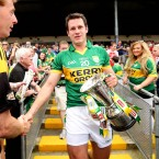 Brosnan claimed three All-Ireland senior medals with Kerry. He retired before launching the second phase of his career in 2011.<span class=