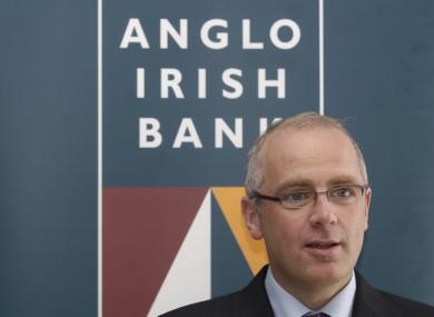 Former Anglo Irish Bank chief executive David Drumm.