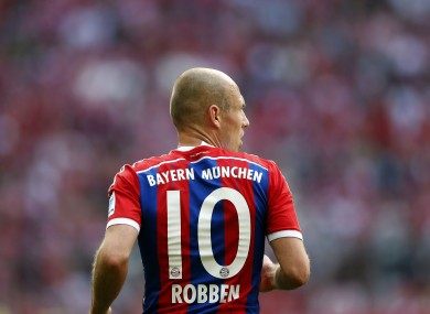Arjen Robben: determined to stay in Bavaria.
