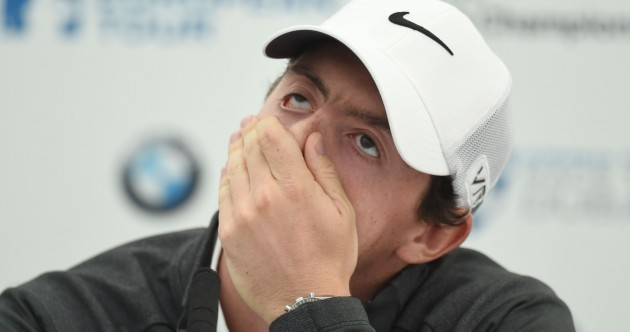 'I didn't think there was any reason to pull out' – McIlroy to keep up golfing commitments