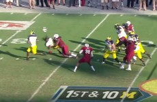 Here's the hit that put no 1 NFL draft pick Jadeveon Clowney on the map